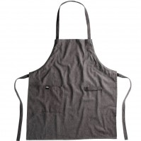 BergHOFF Gem Apron 100% black heathered cotton