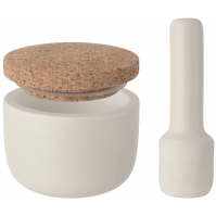 BergHOFF Leo Mortar and Pestle with Cork Lid