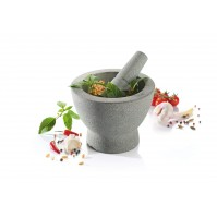 GEFU Crunchy Granite Mortar and Pestle