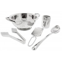 Pradel Excellence 5-piece Spaghetti Set - stainless steel