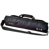 Tojiro Empty Roll Bag for 8 kitchen knives - black nylon