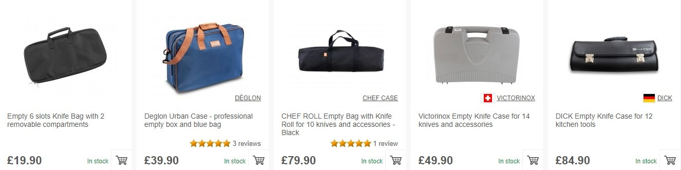Great variety of bags and cases on our website!