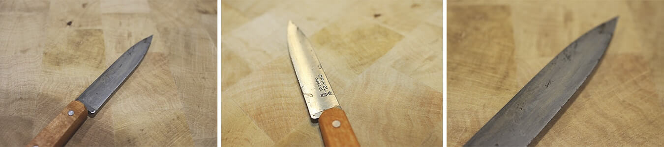 Learn how to remove the rust from your knives