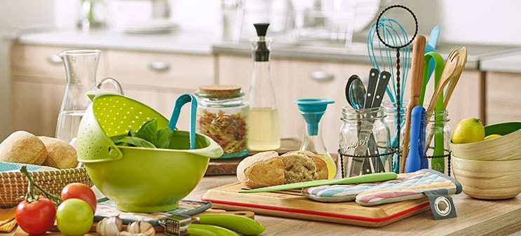 Great selection of kitchen accessories