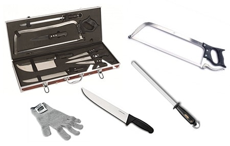 Professional butcher equipment