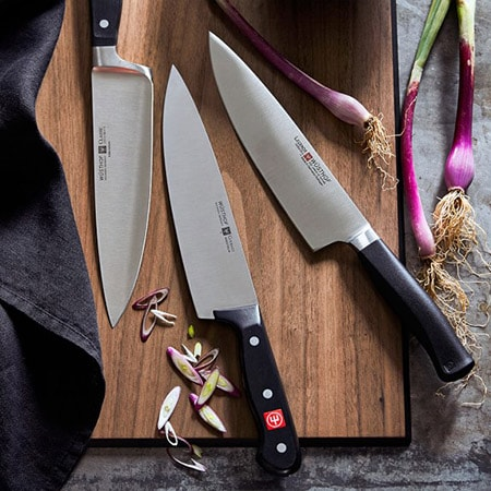 Chef knives of great quality at MyChefKnives