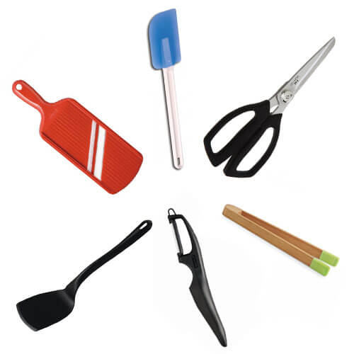 Kitchen utensils at MyChefKnives.co.uk