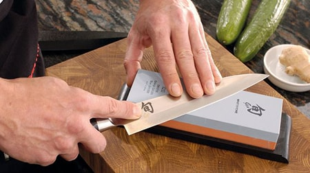 Learn to use a whetstone following our advice