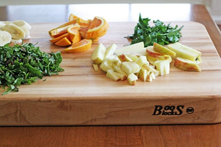 A cutting board is an essential kitchen accessory!