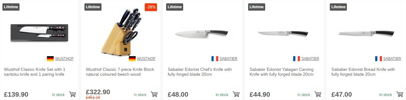 Shop Western style knives here!